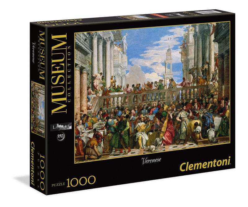 THE WEDDING AT CANA 1000PC JIGSAW - CLEMENTONI