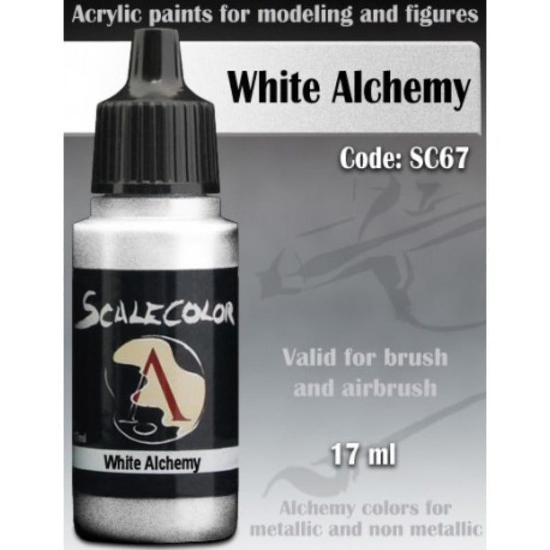 Scale 75 - Scalecolor White Metal (17 ml) SC-67 Acrylic Paint