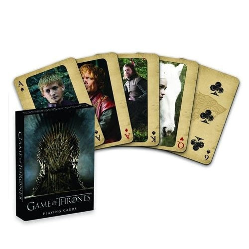 Game Of Thrones: You Win Or You Die - Playing Cards