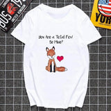 T-shirt Renard Be Mine | La Maison du Renard