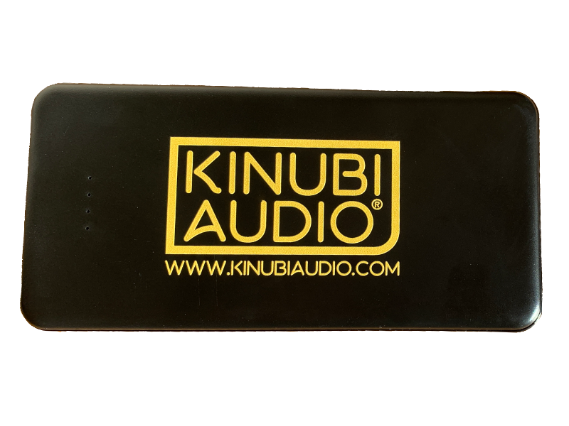 Power Source Black for Kinubi Audio PSV Harp Effects Pedal