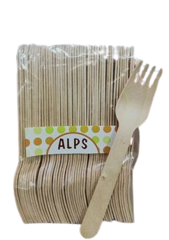 Disposable Wooden Fork (Pack of 50)