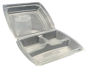 Clear Microwaveable Food Container (Pack of 50)