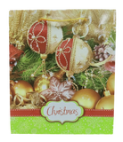 Christmas Paper Bag Thin Design  (Pack of 12)