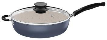 Induction-Ready Skillet with Lid (Marble Coated)