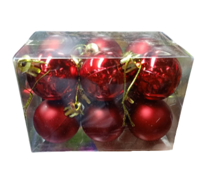 Christmas Balls Pack (Minimum of 2 Packs Per Size)