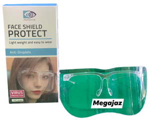 Half Face Shield (Minimum of 3 Pieces)