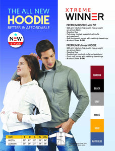 Adult Premium Hoodie (Minimum 6 pcs)