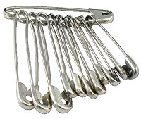Safety Pin (Minimum of 5 Packs)