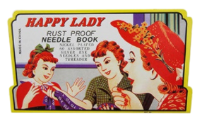 Happy Lady Needle Book (Minimum of 5 Packs)