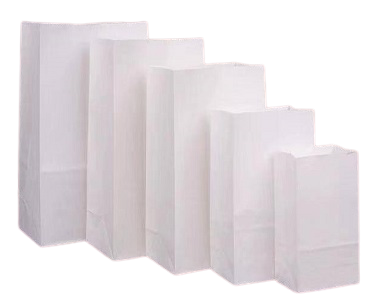 White Bag (Pack of 100)