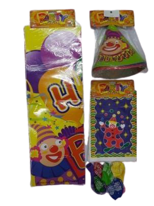 Clown Birthday Set