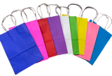 Colored Paper Bags (Minimum of 6 Pieces Per Color)