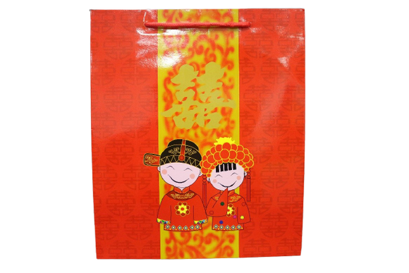 Chinese Wedding Paper Bag (Pack of 12)