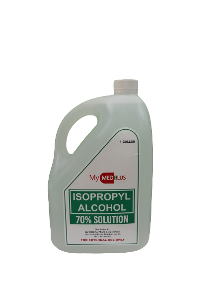 Isopropyl Alcohol 70% Solution (1 Gallon)