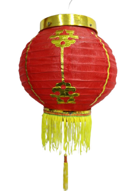 Chinese Lantern with Print