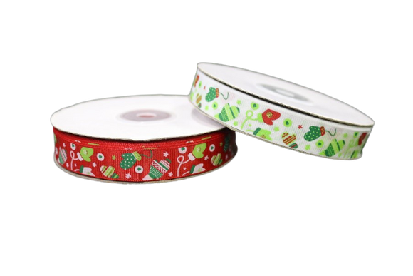 Christmas Ribbon Roll