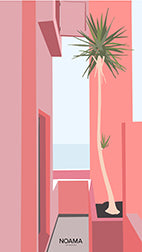 Noama-Pink-Terrace-Free-Mobile-Screensaver