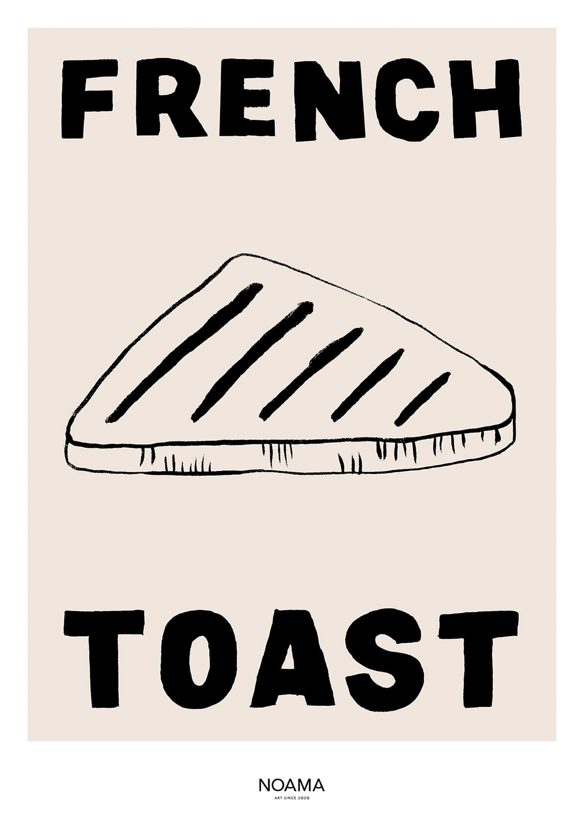 French Toast Framed