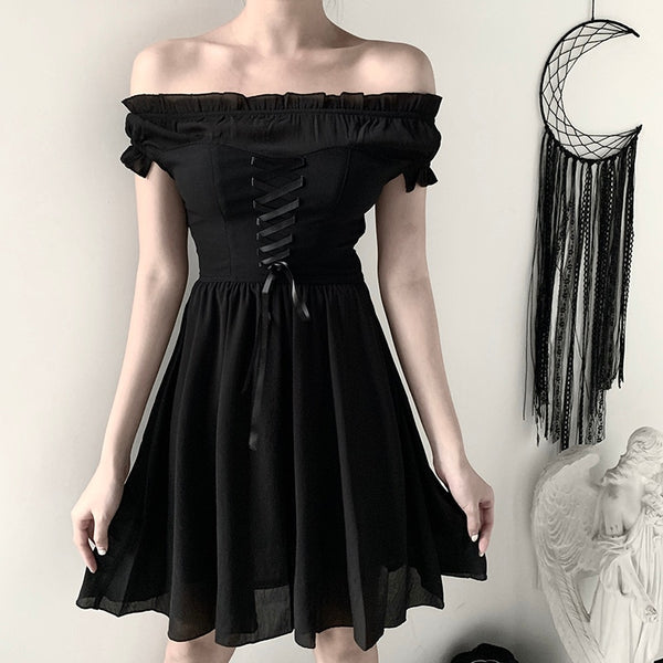 SPOOKY DOLL DRESS