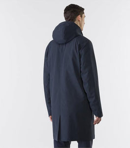 GIACCONE GALVANIC IS COAT - DARK NAVY