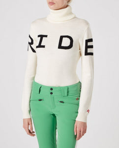 MAGLIA RIDE SWEATER - WHITE