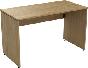 Folding desk natural oak