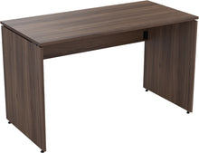 Load image into Gallery viewer, Folding desk natural walnut