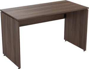 Folding desk natural walnut