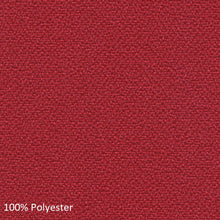 Load image into Gallery viewer, work chair red polyester fabric swatch