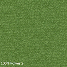 Load image into Gallery viewer, work chair green polyester fabric swatch