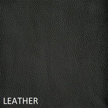 Load image into Gallery viewer, Leather work chair black fabric