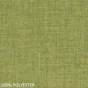 Work chair lime green polyester fabric swatch
