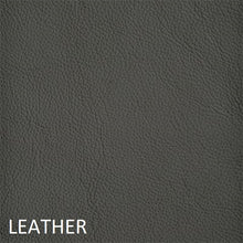 Load image into Gallery viewer, Leather work chair grey fabric
