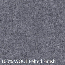 Load image into Gallery viewer, work chair grey wool fabric felt