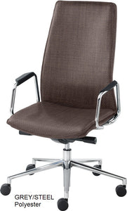 HIgh Back Executive chair, grey