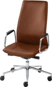 Executive Leather Work Chair HBB1 High Back