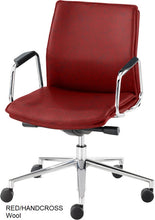 Load image into Gallery viewer, Work chair, Red Wool