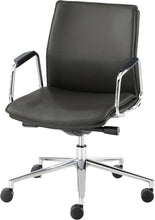 Load image into Gallery viewer, Express Delivery Executive Leather Work Chair HBB1 Medium Back