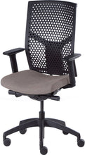 Load image into Gallery viewer, J2 Desk chair, mesh black back and oatmeal seat