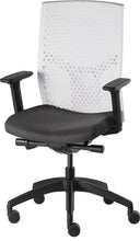 Load image into Gallery viewer, J2 Desk chair, mesh white back and black seat