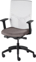 Load image into Gallery viewer, J2 Desk chair, mesh white back and oatmeal seat