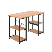 Load image into Gallery viewer, Beech Eaton Desk, Black Frame, Front Angle View
