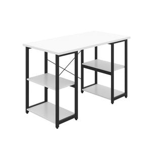 Eaton Desk, Black Frame<br> • 5 finishes <br>• 2 frame colours available