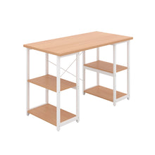 Load image into Gallery viewer, Beech Eaton Desk, White Frame, Front Angle View