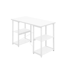 Load image into Gallery viewer, White Eaton Desk, White Frame, Back Angle View