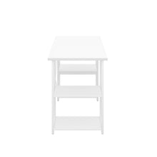 Load image into Gallery viewer, White Eaton Desk, White Frame, Side View