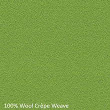 Load image into Gallery viewer, Upholstered work chair green wool fabric swatch