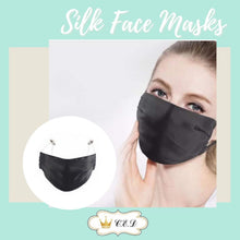 Load image into Gallery viewer, 100% Silk Face Mask