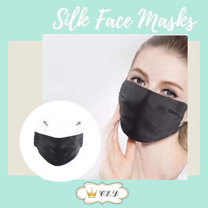 100% Silk Face Mask